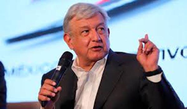 López Obrador de izquierda es presidente de México