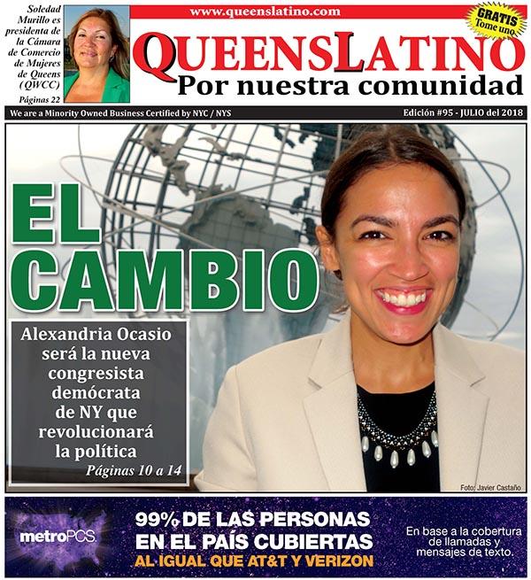 Alexandria Ocasio la 'revolucionaria' de la política