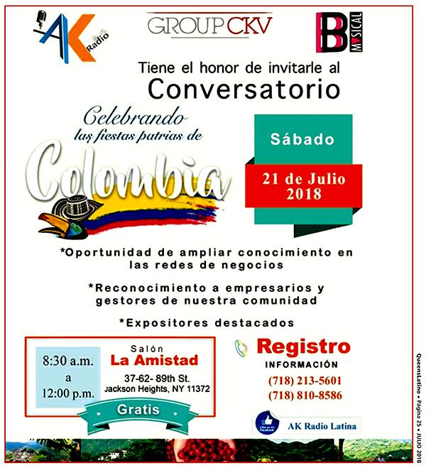 Conversatorio y taller de trabajo este sábado 21 de julio
