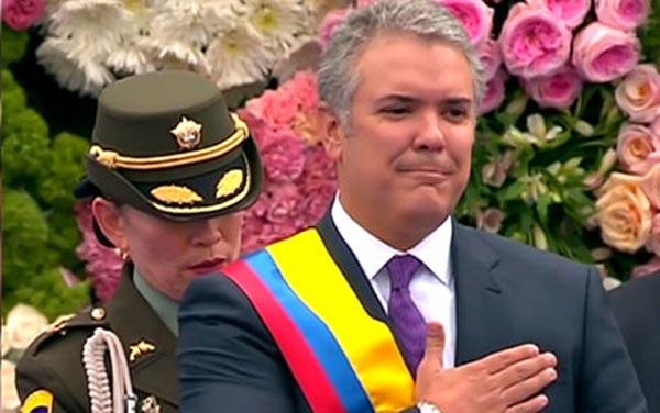 Ivan Duque es nuevo presidente de Colombia