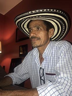 Jesús Emilio Tuberquia dijo que en Colombia lo van a matar.