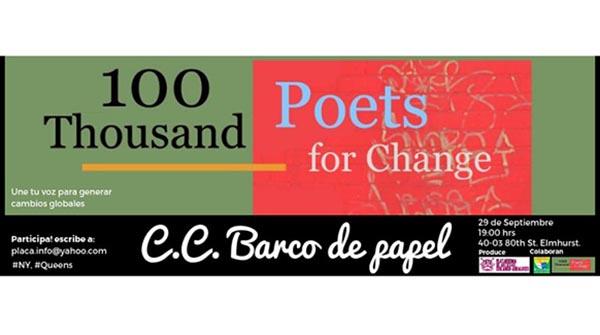 Poetas en Centro Cultural Barco de Papel este sábado 29
