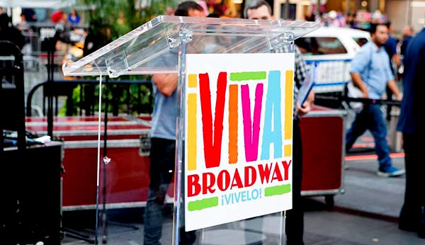 Viva Broadway celebra Herencia Hispana el 25 de septiembre