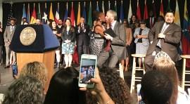 Alcalde de Blasio celebra el Mes de la Herencia Hispana
