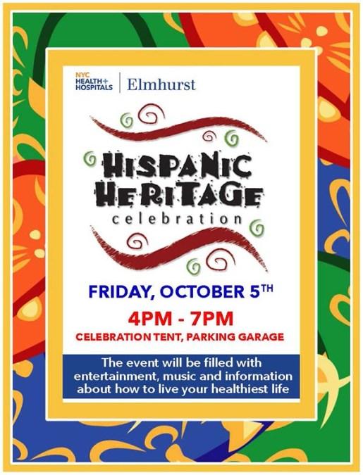 Elmhurst Hospital Celebrates Hispanic Heritage Month this Friday