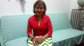 Dolores Ortiz de 74 años ha trabajado toda su vida