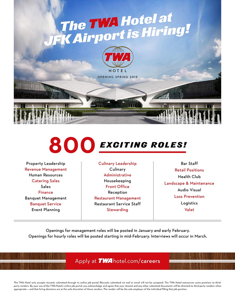 Housekeeping Openings Twa Hotel At Kennedy Airport Is Hiring Queens Latino