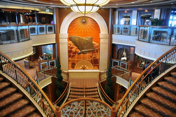 Modern Formal Dining Room Queen Victoria Cruise Ship