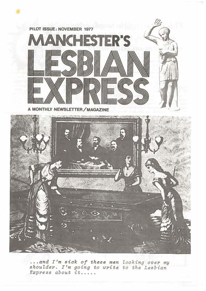 Lesbian Express Cover
