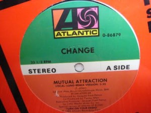 Mutual Attraction single record 45rpm