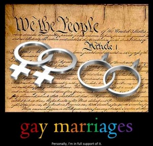freedom of religion means the right to gay marriage