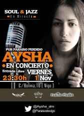 aysha en concierto