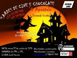 CARTEL-TARDES-DE-CINE-E-CHOCOLATE-o-apostolo