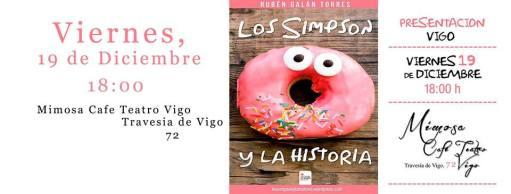 Presentación del libro Los Simpson y la Historia