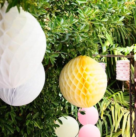 Decoración boda en amarillo