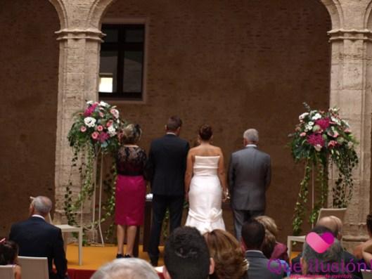 Ceremonia civil en Castillo de Alaquás