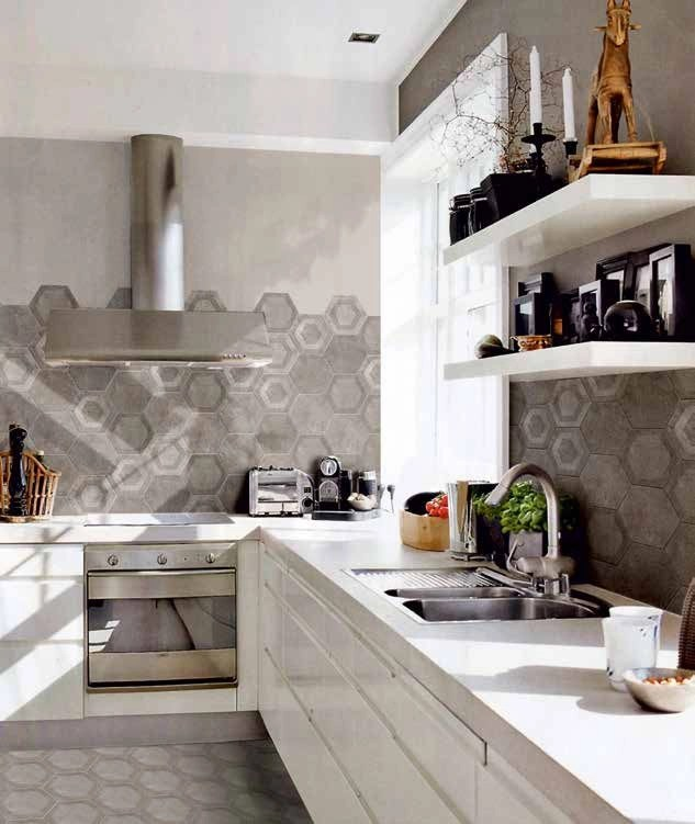 Finte Piastrelle Cucina | Mattonelle Per Cucine Moderne - Ceramica
