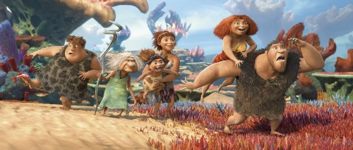 THE CROODS Movie Review ~ For the familia