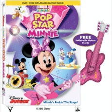 Mickey Mouse Clubhouse: POP STAR MINNIE DVD Giveaway