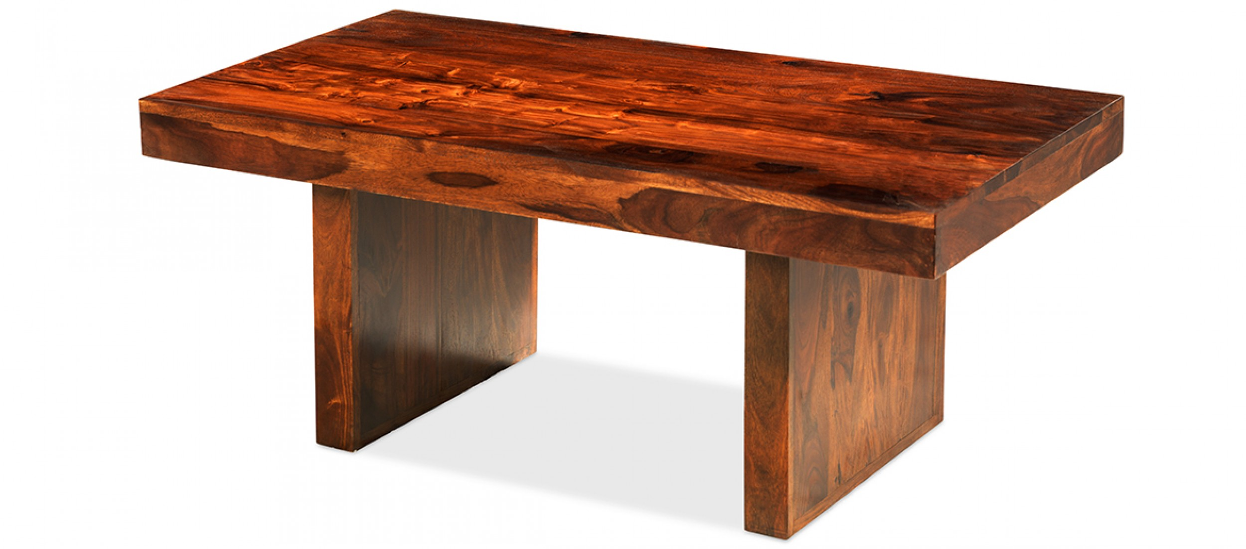 Couchtisch Cuba Cube Sheesham Block Coffee Table Quercus Living