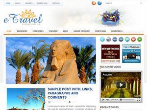 template, tema , 2 colunas, viagem, travel