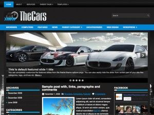tema, template, cars, carros, wordpress, wp, 3 colunas