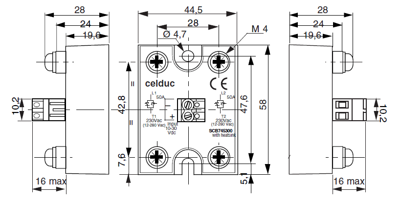 solid state relay celduc