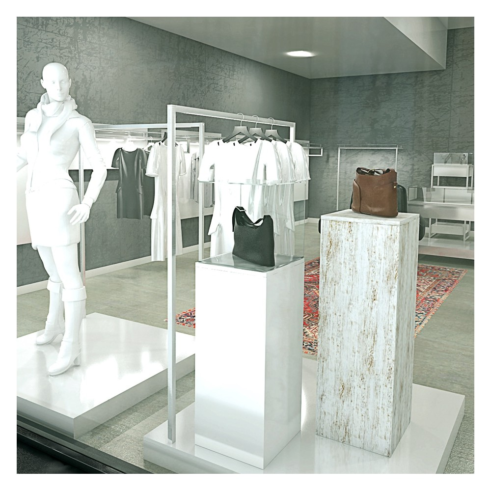 Decoration Vitrine Magasin Podium De Présentation Magasin Question Commerce