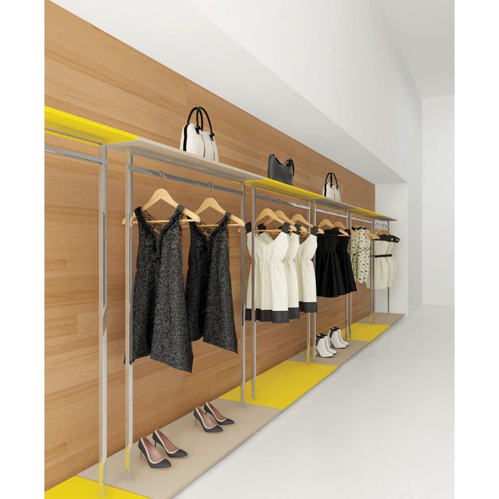 Portant Magasin Portant En Bois Simple Buste Mannequin Gifi Gnialporte Vetement