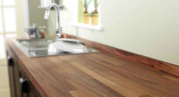 Piano lavoro cucina in legno 004 questioni di arredamento - Piano cucina legno massello ...