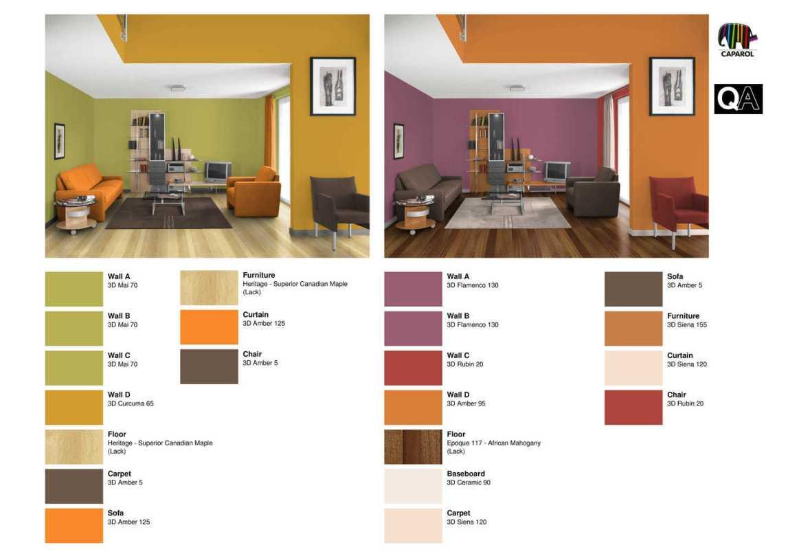 Colore Pareti Giallo Ocra ~ Ispirazione design casa