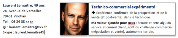 accroche cv reconversion professionnelle en commercial
