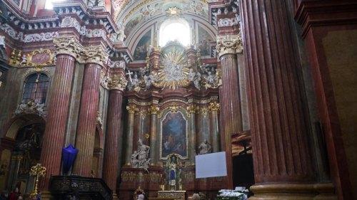 Altar Mayor de la Iglesia de San Estanislao