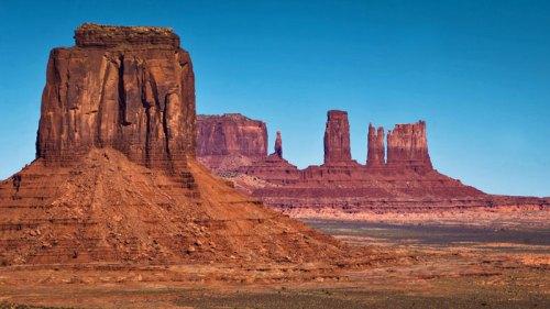 Vistas de Monument Valley desde Artist's Point