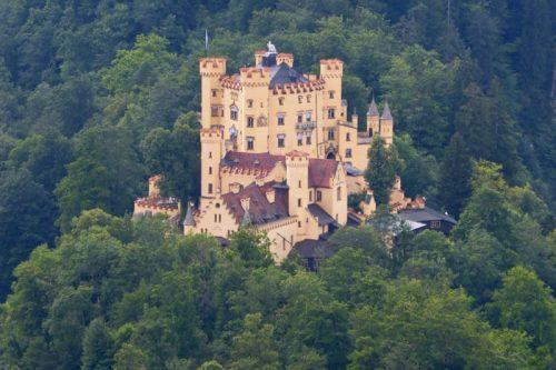 Castillo de Hohenschwangau, uno de los principales monumentos de Füssen