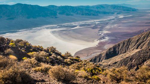 Dante's View, el mirador más famoso del Valle de la Muerte