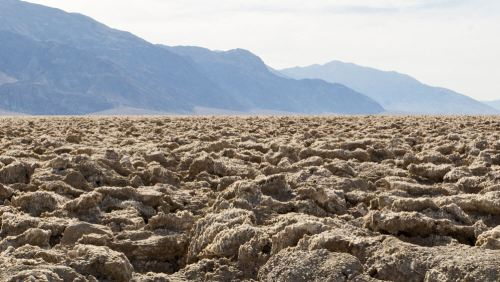 Devil's Golf Course (Campo de Golf del Diablo) en Death Valley National Park