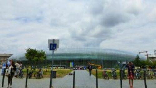 Gare de Strasbourg, la principal estación de trenes de Estrasburgo