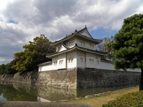 Foso del Castillo Nijo en Kioto