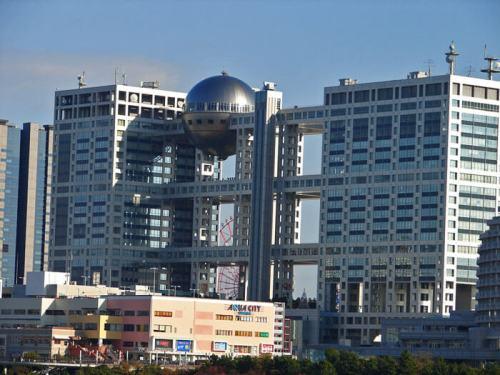 Edificio de Fuji TV en Odaiba