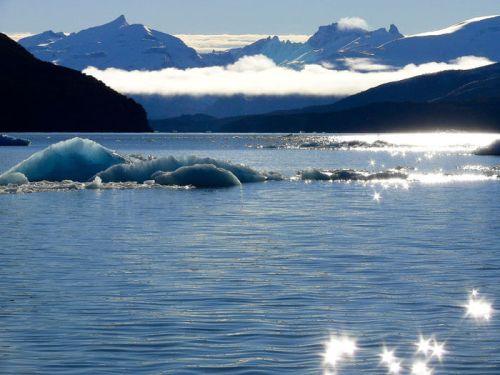 Parque Nacional Los Glaciares en Argentina, declarado Patrimonio de la Humanidad