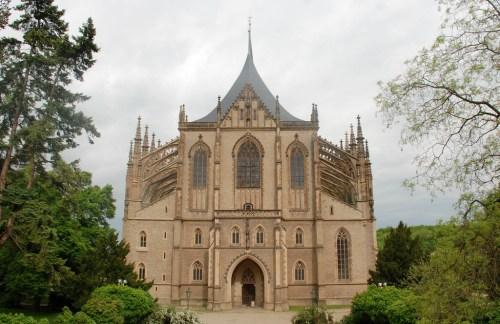 Iglesia de Santa Bárbara en Kutná Hora. Foto de Xiquinho Silva