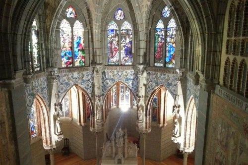 Interior del Palacio Episcopal de Astorga o Palacio de Gaudí