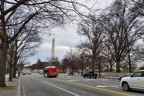 Medios de transporte disponibles para llegar a Washington