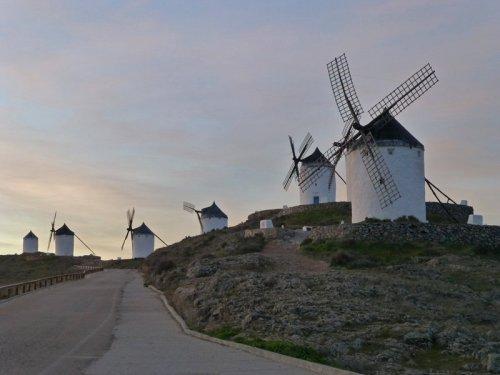 Ruta de los molinos de La Mancha, también conocidos como molinos de Don Quijote