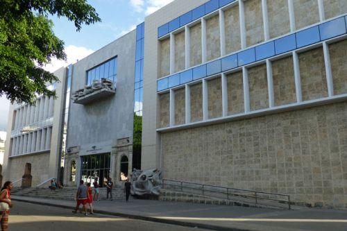 Museo Nacional de Bellas Artes de La Habana, sede de arte cubano en el Centro Asturiano, museos de La Habana