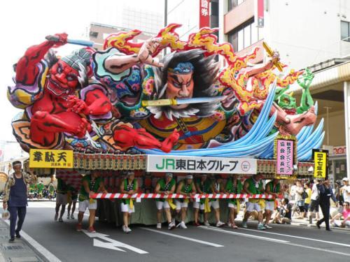 Nebuta Matsuri, uno de los festivales más coloridos de Japón