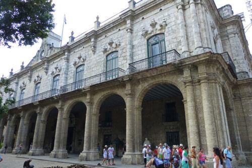 Palacio de los Capitanes Generales, sede del Museo de la Ciudad de La Habana