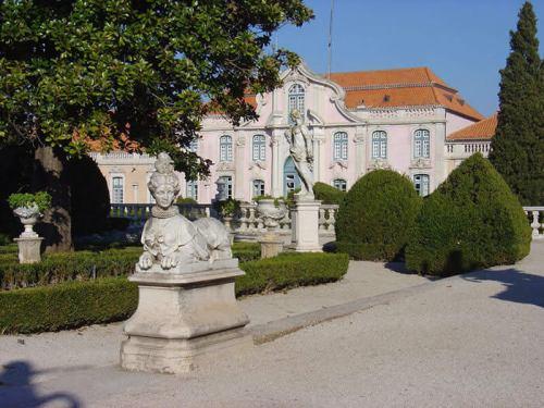 Palacio Real de Queluz. Foto de Jason Faulkner.