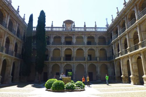 Patio de la Universidad de Alcalá de Henares